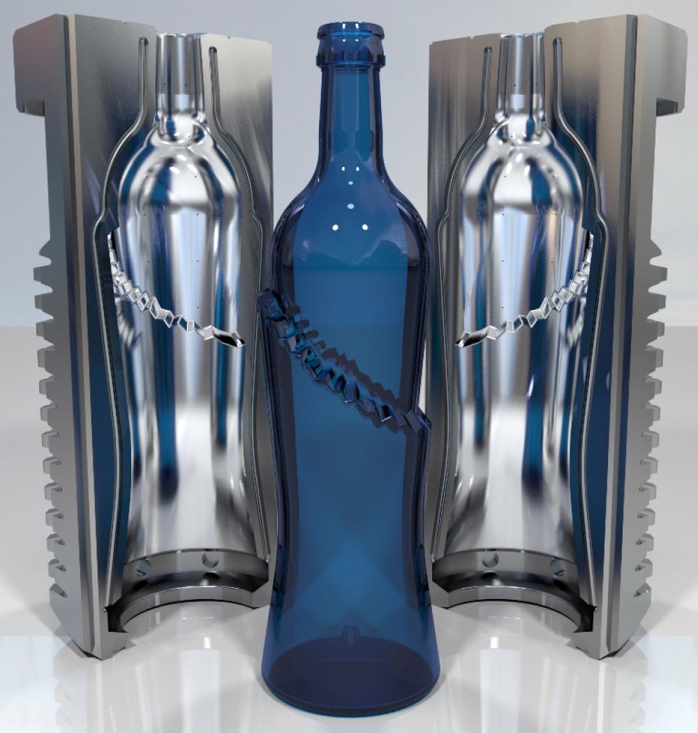خدمات پوششدهی سخت قالبهای تولید شیشه