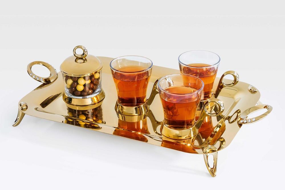 سرویس چایخوری طلائی