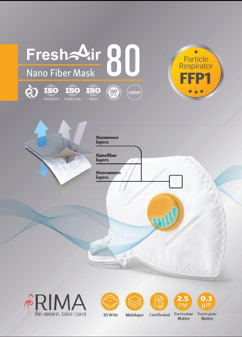 ماسک تنفسی FFP1