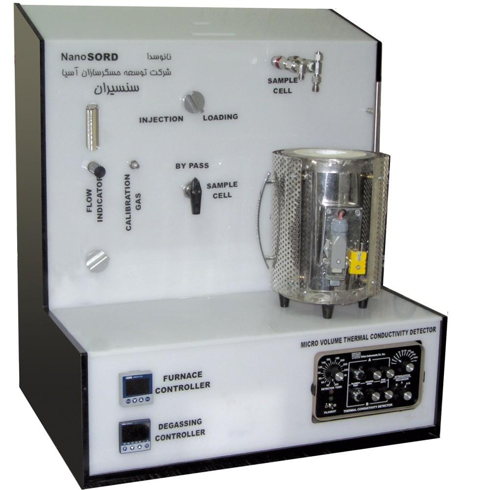 دستگاه اندازه گیری سطح ویژه (BET) و آنالیز دفع و جذب شیمیایی
