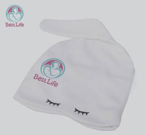 کلاه نوزاد پنبهای آنتیباکتریال