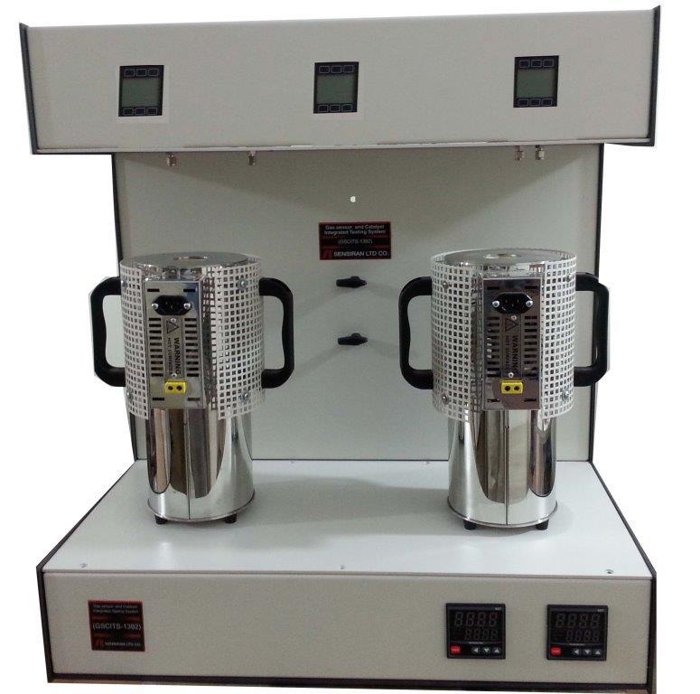 دستگاه یکپارچه اندازه گیری عملکرد حسگری و کاتالیزوری مواد