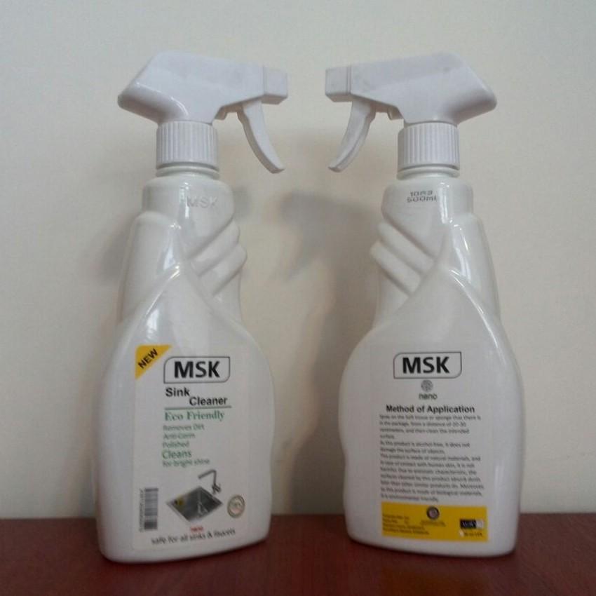 محلول پاککننده سینک ظرفشویی