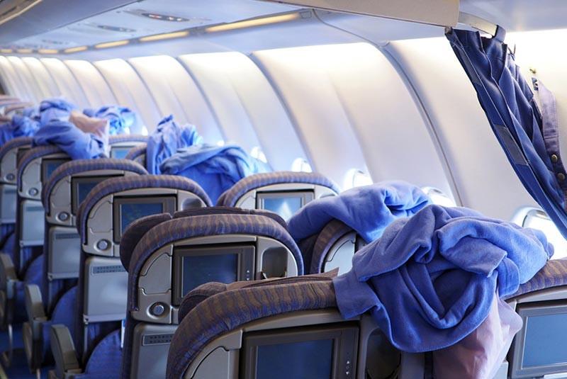 پتوی هواپیما آنتیباکتریال