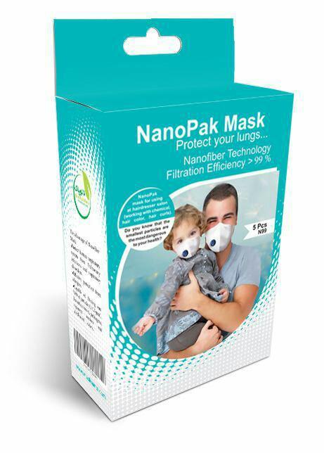 ماسک تنفسی سوپاپدار ویژه بزرگسالان