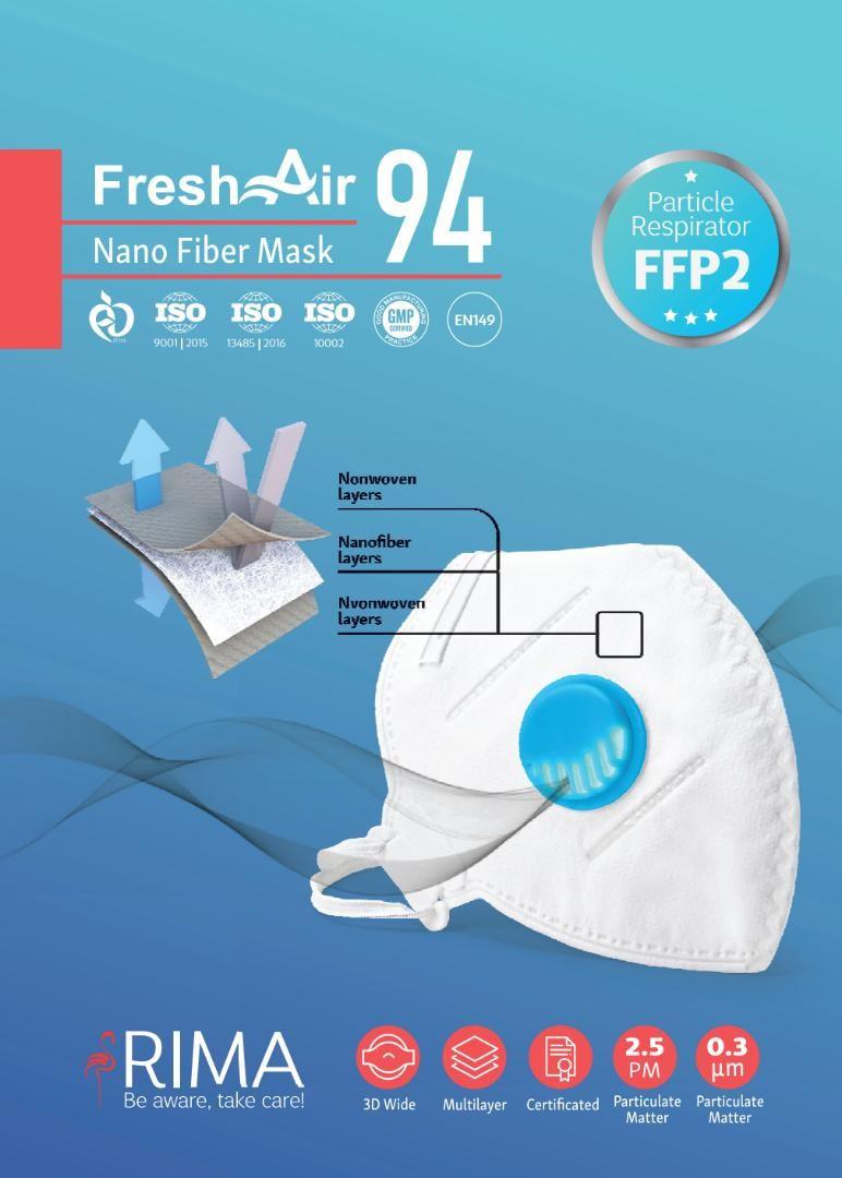 ماسک تنفسی FFP2