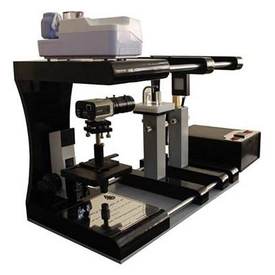 دستگاه اندازه گیری زاویه تماس و کشش بین سطحی به روش قطره آویزان